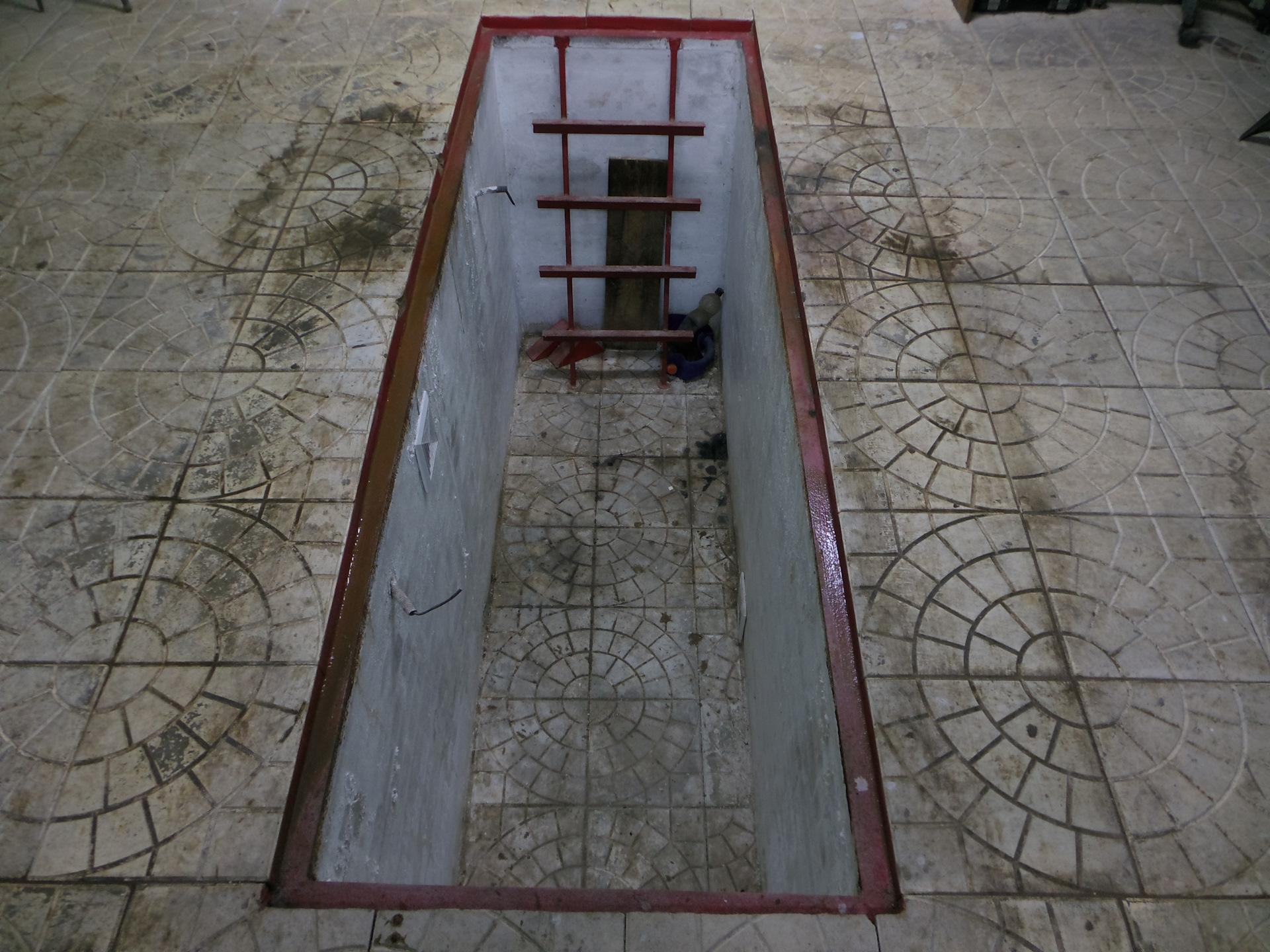 Плитка в гараж на пол