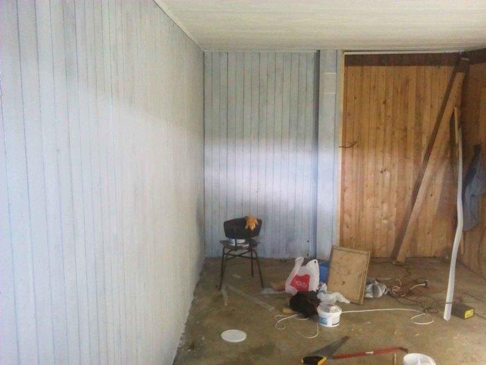 Дизайн гаража-мастерской с пола из эпоксидки